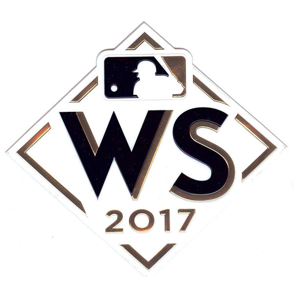2017 MLB World Series Patch