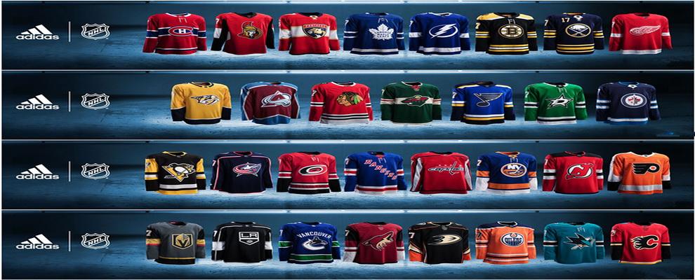 2017-2018 Adidas NHL Jerseys
