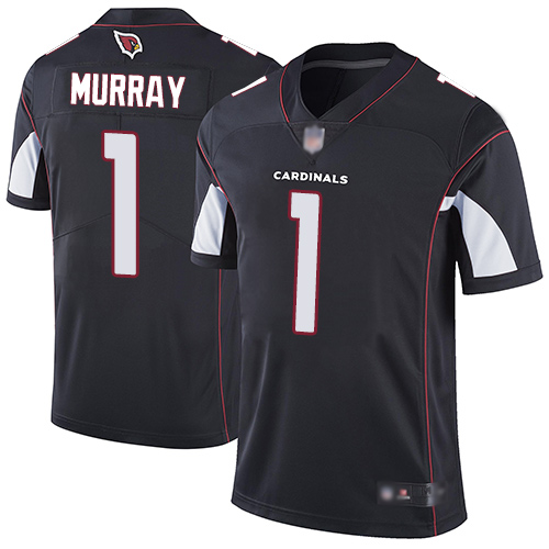 #1 Limited Kyler Murray Black Football Alternate Men's Jersey Arizona Cardinals Vapor Untouchable
