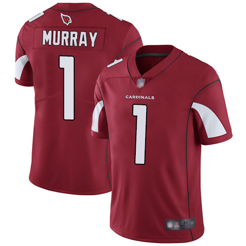 #1 Limited Kyler Murray Red Football Home Men's Jersey Arizona Cardinals Vapor Untouchable
