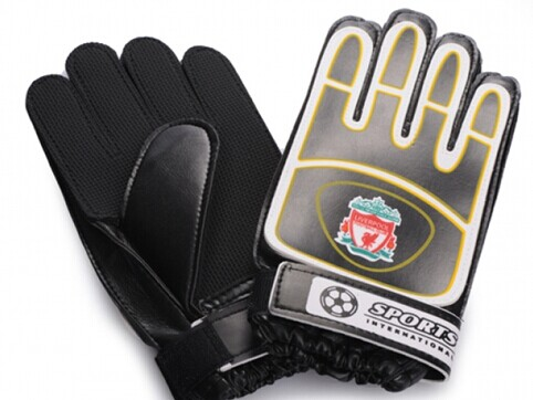 Liverpool FC Goalkeeper Black Gloves