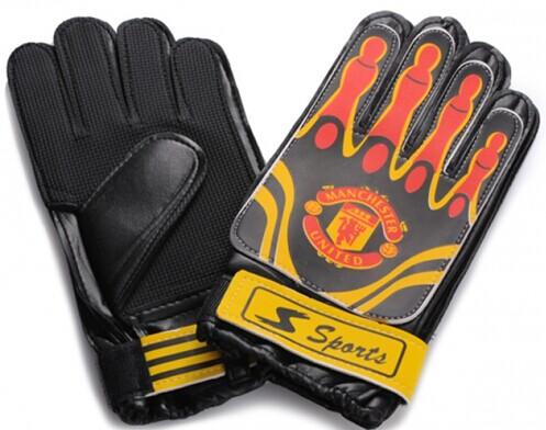 Real Madrid Goalkeeper Black Gloves