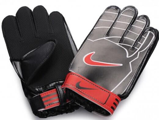 Nike Brand Goalkeeper Black Gloves