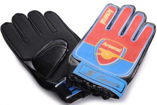Arsenal FC Goalkeeper Black Gloves