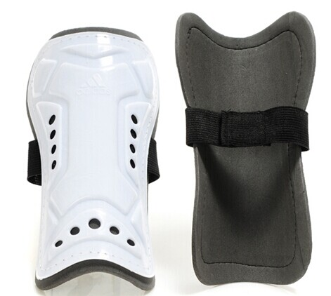 Adidas Brand Shin Pads White