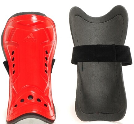 Adidas Brand Shin Pads Red
