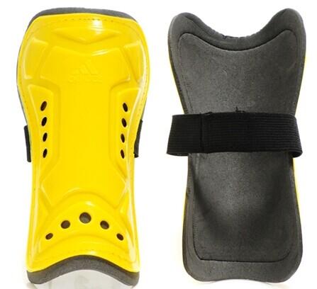 Adidas Brand Shin Pads Yellow