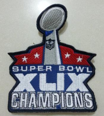 New England Patriots 2015 Super Bowl XLIX Championship Commemorate Patch