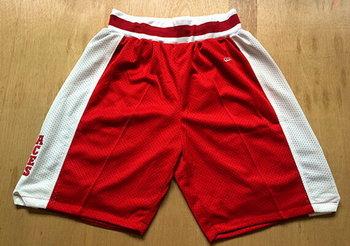 Men's Lower Merion High School Red Baseketball Shorts