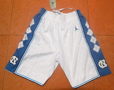 Men's North Carolina Tar Heels White Shorts