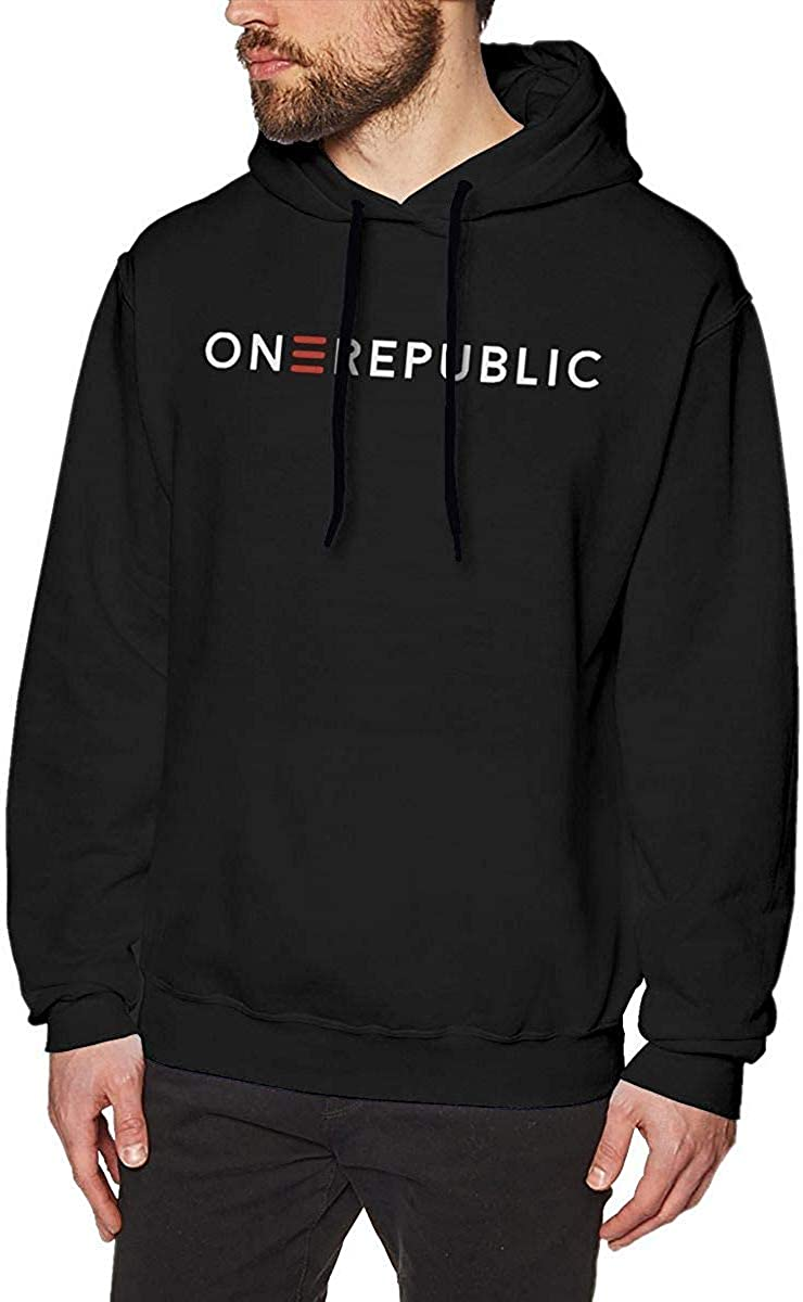 OneRepublic Hoodie Drawstring Manner Hoodies Men's Leisure Pullover Hoodie Sweatshirt Funny Baseball Tops