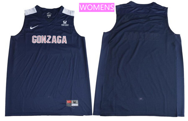 Women's Gonzaga Bulldogs Custom College Basketball Nike Jersey - Navy Blue