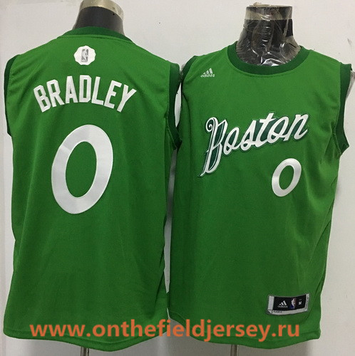 Men's Boston Celtics #0 Avery Bradley adidas Green 2016 Christmas Day Stitched NBA Swingman Jersey