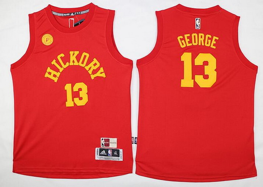 Youth Indiana Pacers #13 Paul George 2015-16 Red Jersey
