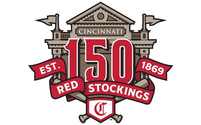 2019 Cincinnati Reds 150th Anniversary Patch