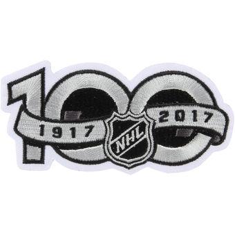 1917-2017 NHL Centennial Season 100th Anniversary Patch