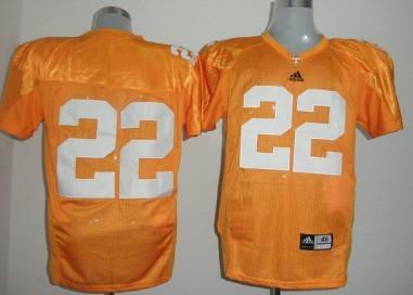 Tennessee Volunteers #22 Rod Wilks Orange Jersey