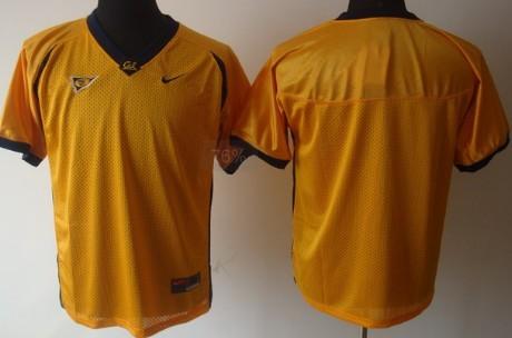 California Golden Bears Blank Yellow Jersey