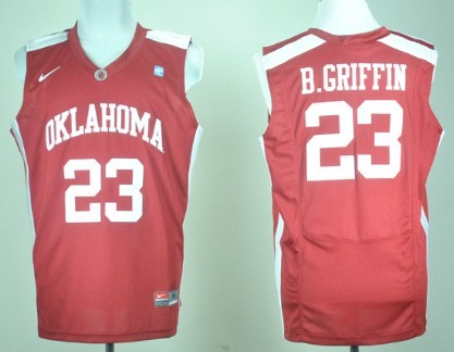 Oklahoma Sooners #23 Blake Griffin Red Jersey