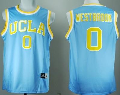 UCLA Bruins #0 Russell Westbrook Blue Jersey