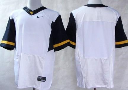 West Virginia Mountaineers Blank 2013 White Elite Jersey