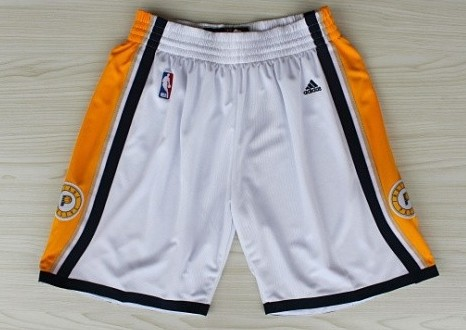 Indiana Pacers White Shorts