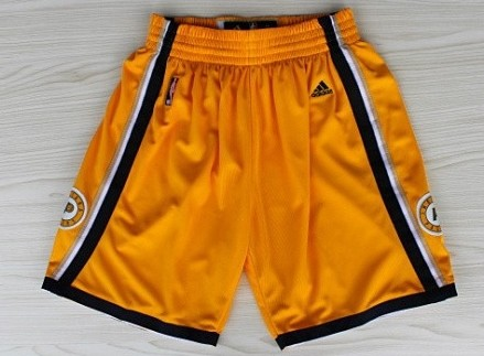 Indiana Pacers Yellow Shorts
