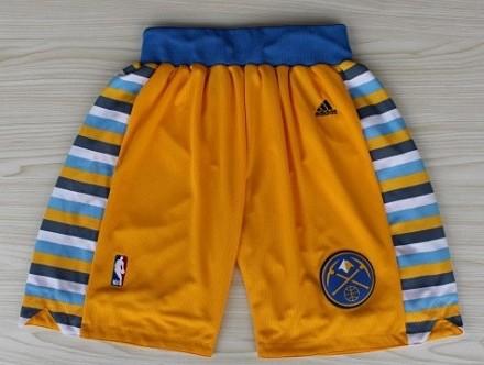 Denver Nuggets Yellow Shorts