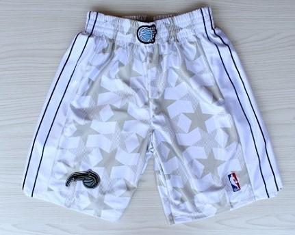 Men's Orlando Magic White All-Star Shorts