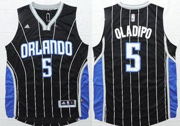 Men's Orlando Magic #5 Victor Oladipo Revolution 30 Swingman New Black Jersey