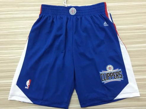Men's Los Angeles Clippers 2015-16 Blue Shorts