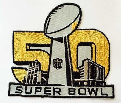 2016 Super Bowl 50th Anniversary Patch