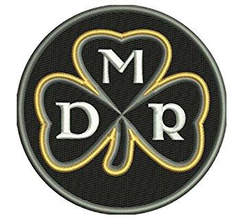 2017 Pittsburgh Steelers Memory Of Dan Rooney  MDR Patch