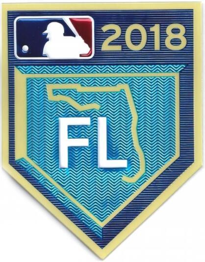 2018 Grapefruit League Spring Training TPU EmbossTech Jersey FL Patch