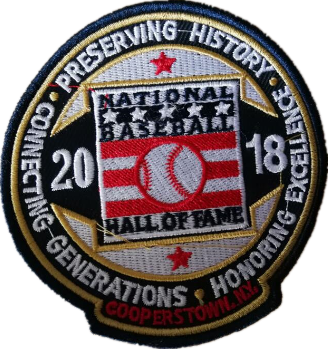 2018 MLB Hall of Fame Patch