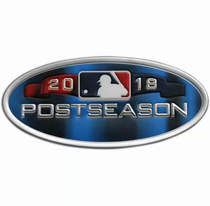 2018 MLB Postseason Patch