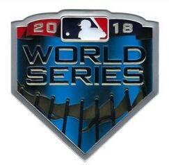 2018 MLB World Series Patch