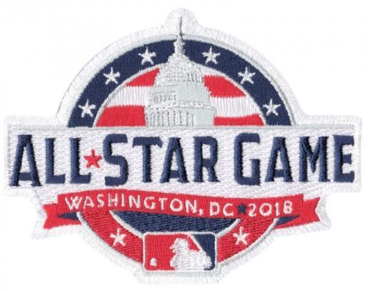 2018 Major League Baseball MLB All Star Game Jersey Patch (Washington D.C)