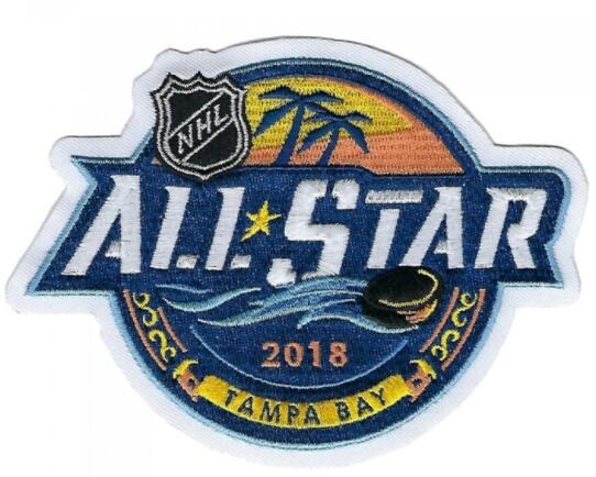 2018 NHL All Star Game Tampa Bay Lightning Jersey Patch