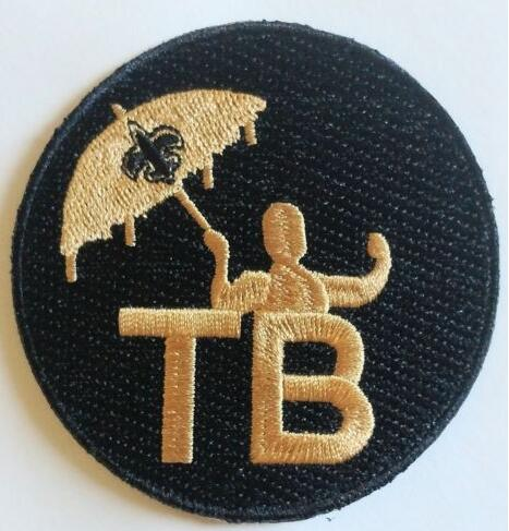2018 New Orleans Saints Memory Of Tom Benson TB Patch