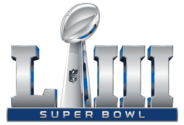 2019 NFL Super Bowl LIII Patch
