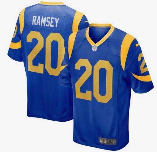 Men's Los Angeles Rams #20 Jalen Ramsey Royal Blue Alternate Stitched NFL Nike Game Jersey