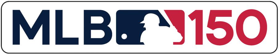2019 MLB 150TH Patch