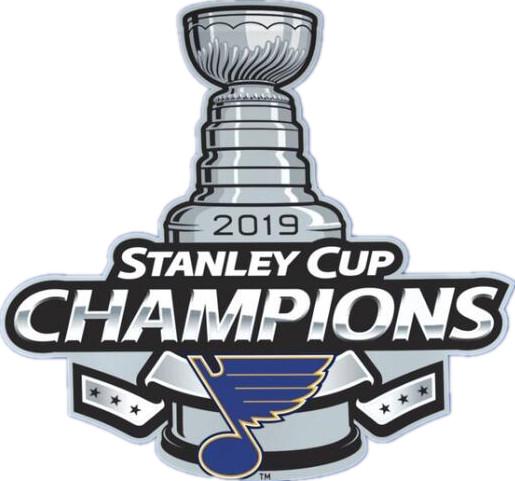 St. Louis Blues 2019 Stanley Cup Champions Patch