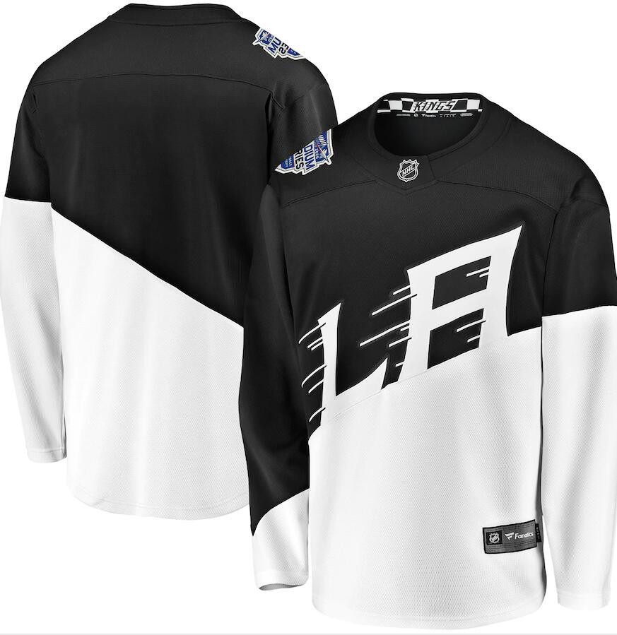 Men's Los Angeles Kings Blank Black 2020 Stadium Series Adidas Stitched NHL Jersey