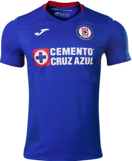 2020-21 Cruz Azul Home Blue Soccer Men's AAA+ Shirt