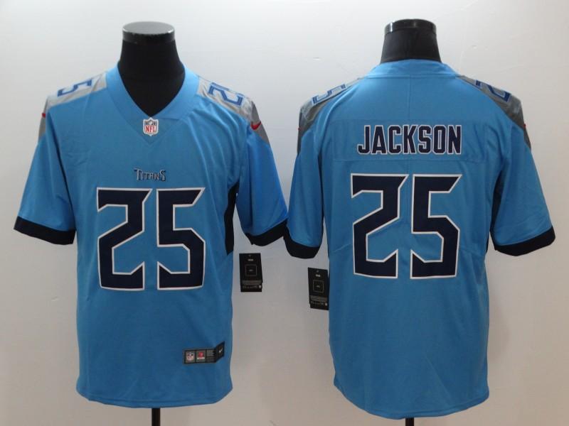 Men's Tennessee Titans #25 Adoree' Jackson Light Blue 2019 Vapor Untouchable Stitched NFL Nike Limited Jersey