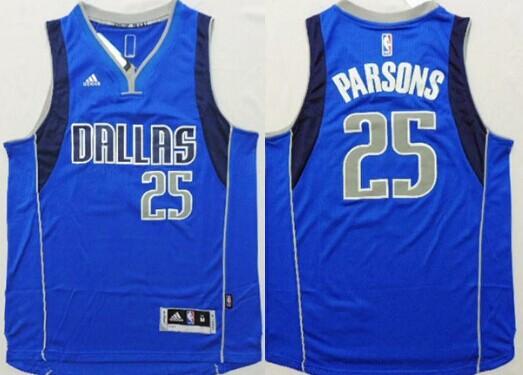 Dallas Mavericks #25 Chandler Parsons Revolution 30 Swingman 2014 New Light Blue Jersey