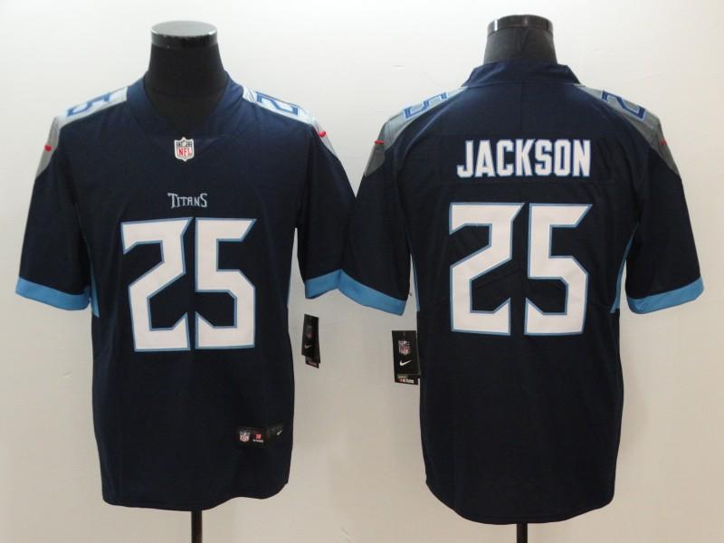 Men's Tennessee Titans #25 Adoree' Jackson Navy Blue 2019 Vapor Untouchable Stitched NFL Nike Limited Jersey
