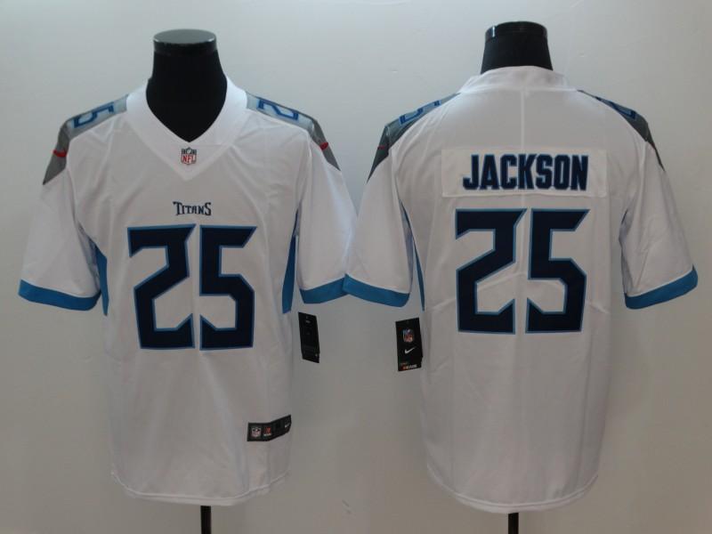 Men's Tennessee Titans #25 Adoree' Jackson White 2019 Vapor Untouchable Stitched NFL Nike Limited Jersey